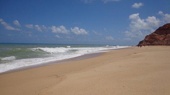 Barra de Jequia Beach: Deserto
