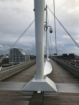 On top of bridge