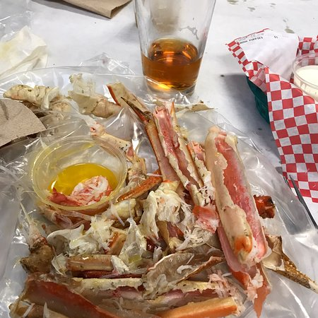 Snow crab before