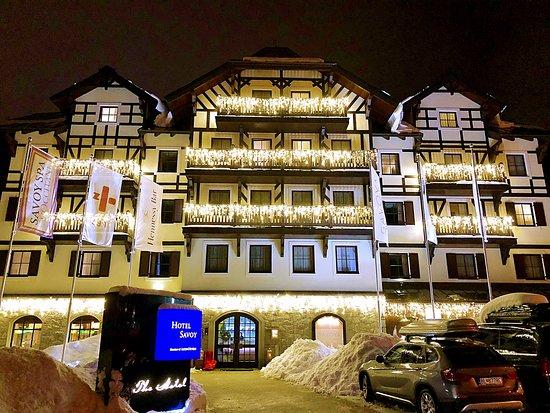 SAVOYA restaurant & lounge: Отель