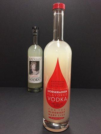 A label change for Horseradish Vodka