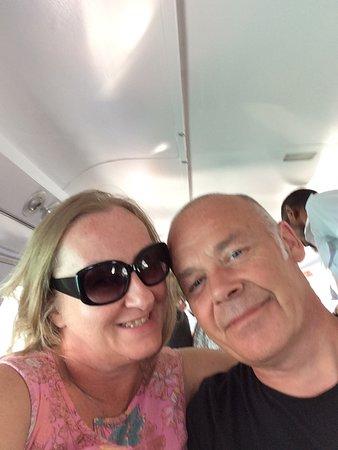 On the sea plane