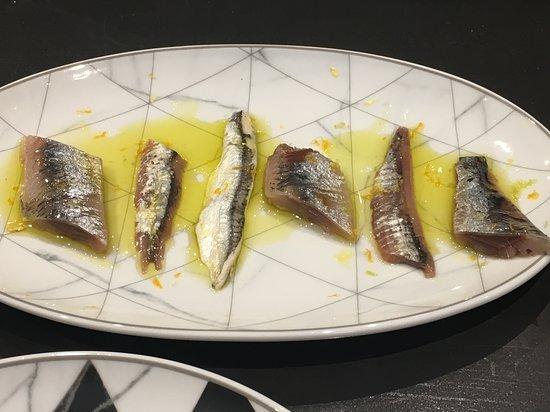 bisavis: Sardina ahumada, anchoa 00 y boquerón
