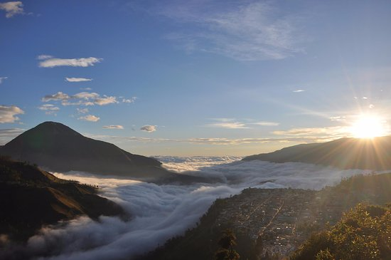 Chunchi, Ecuador: Panorámica del Puñay