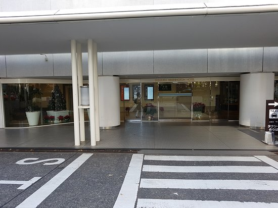 1. Main Building entrance - After the crossing and turn right.