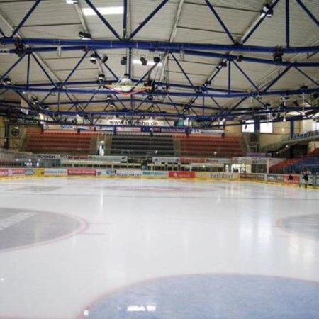 Heim der Iserlohn Roosters. Eissportverein der DEL.