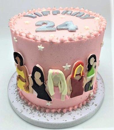 spice girl birthday cake