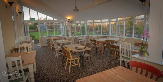 Soak up the views in the restaurant
