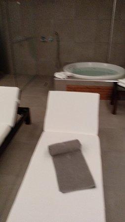 Área de spa  da suite 501
