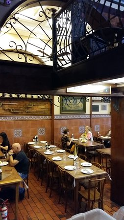 Restaurante Gambrinus: salão interno
