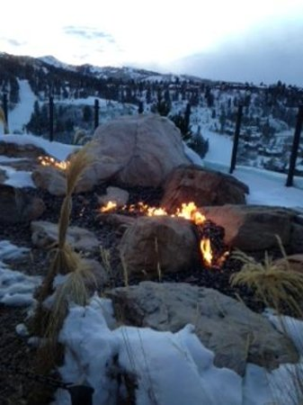 St. Regis Bar at Deer Valley: Outdoor Firepit With a View.  I'm in.  You will be, too.