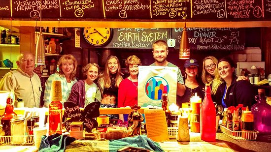 Deep River, CT: Our charity dinner staff.  All volunteers.  100% for clean water projects here and AROUND THE WORLD!!
