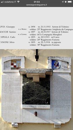 Monumento ai caduti di Vizzola Ticino