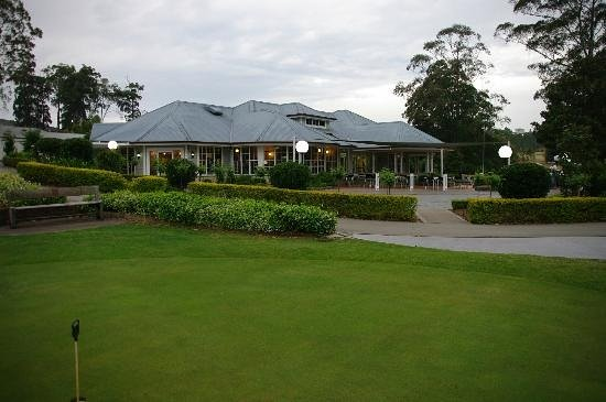 Hallidays Point, Austrália: Club house & Restaurant