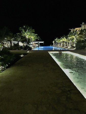 Beautiful Xcaret Hotel, where the Restaurant Ha´is located