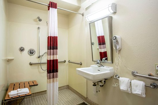 ADA Accessible Roll-In Shower