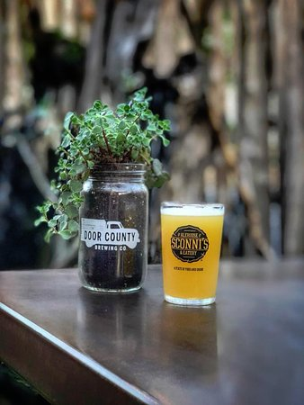 Sconni's Alehouse & Eatery: Patio season is almost here...almost.
