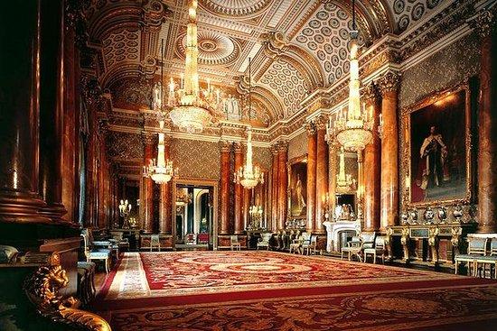 Buckingham Palace and Windsor Castle...
