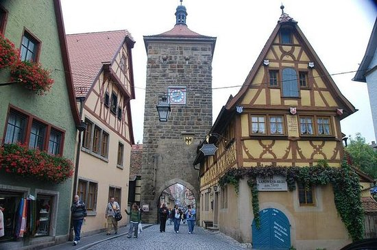 Romantic Road, Rothenburg, and...