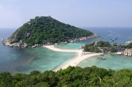 从Koh Samui出发的Koh Nang Yuan和Koh Tao浮潜之旅