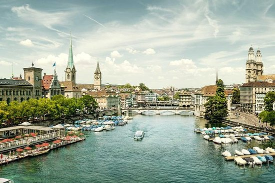 Zürich einschließlich Bootstour auf...