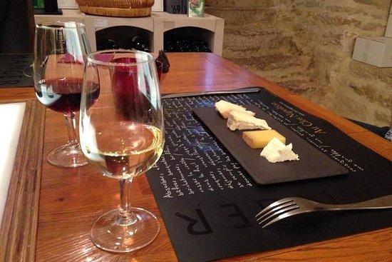 Lille Burgundy Vin og Ostsmagning...