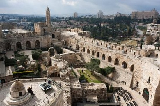 City of David and Underground...