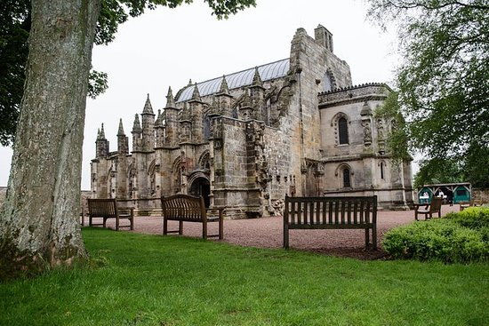 Rosslyn Chapel, Dunfermline Abbey and...