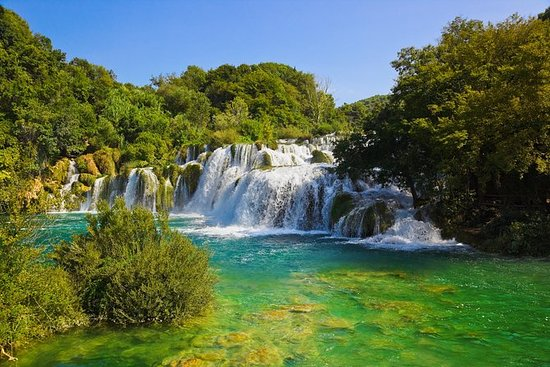 Excursão Privada às Cataratas de Krka...