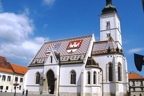 Excursão a pé por Zagreb
