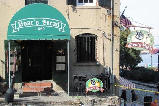 萨凡纳的闹鬼历史酒吧和酒馆之旅