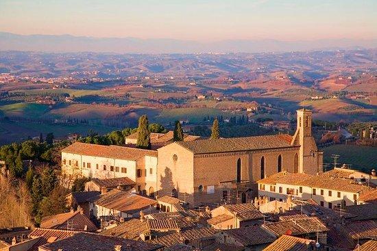 Chianti Weinprobe und San Gimignano...