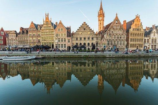 プライベートツアー:ブリュッセル発ヘントとブルージュ日帰り旅行