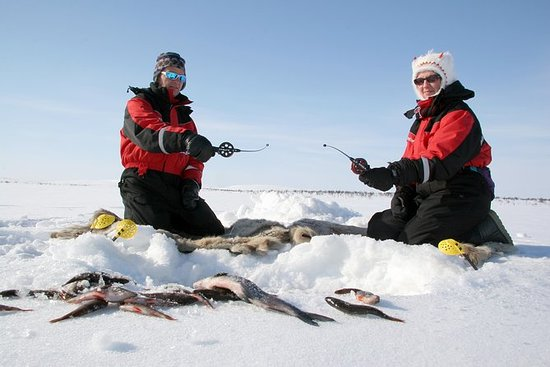 Laponia Ice Fishing Experience en...