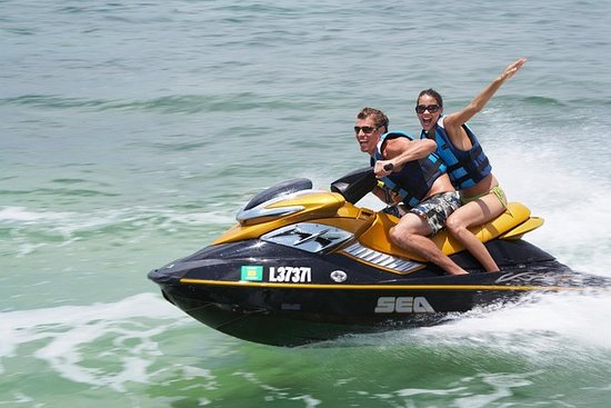 Geführte San Antonio Bay Jet Ski...