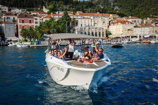 Hvar Island and Blue Cave Tour from...