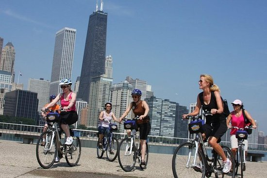 Aventura de bicicleta no Chicago...