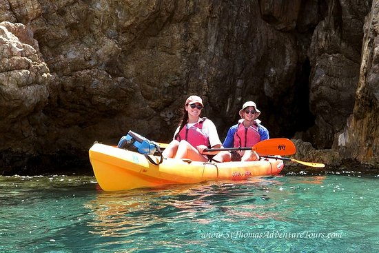 St Thomas Shore Excursion: Kayak and...