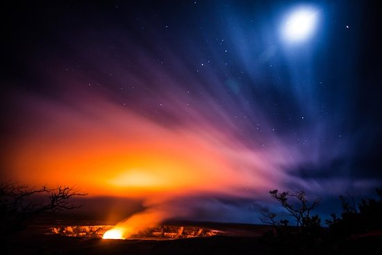 Evening Volcano Explorer from Hilo