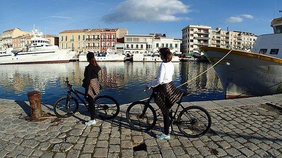 Fahrradverleih zur Erkundung von Sete