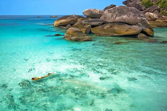 Similan Islands Snorkel Tour by...