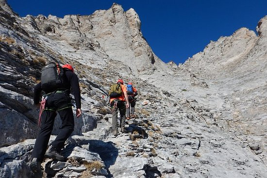 Trekking Olimpo fino a Mytikas, 2.918