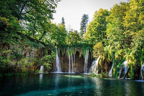 与Plitvice Lakes之旅分道到萨格勒布集团转机