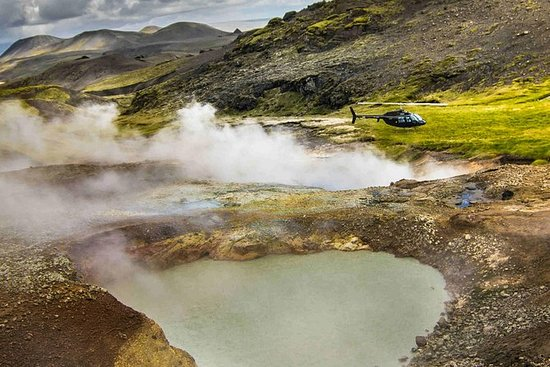 Fire and Ice Helicopter Tour from Reykjavik