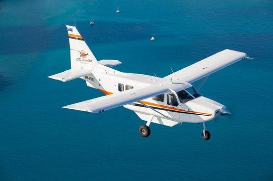 Grande volo panoramico della Barriera
