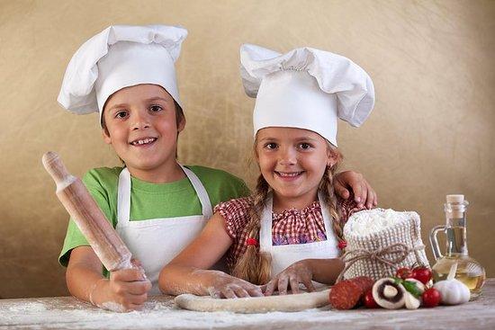 Cours de cuisine familiale à Florence...