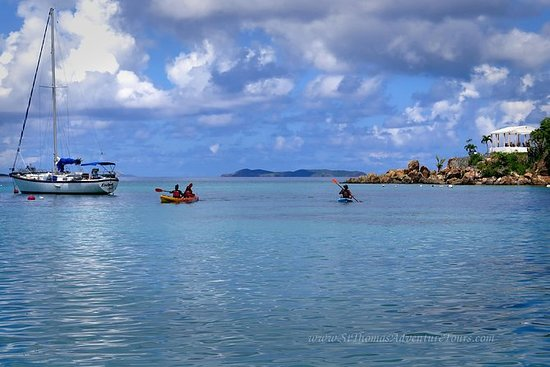 St. Thomas Kayak and Sea Turtle...