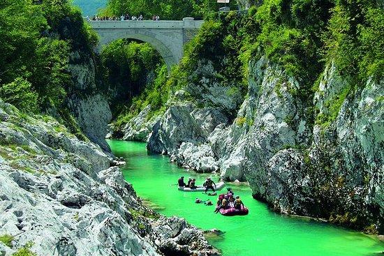 Emerald River og Kozjak Waterfall...