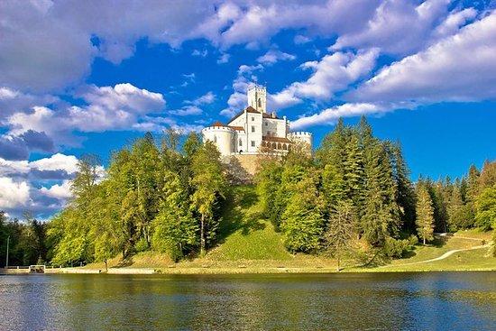 Kumrovec Trakoscan Castle och ...