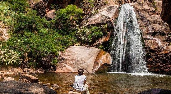 Trekking på Cascadas Del Rio Colorado...
